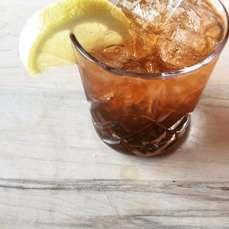 Urban Pantry: Roasted Cherry Gin Soda