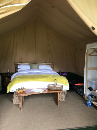 Dromquinna Manor: Example of the 1 room tent
