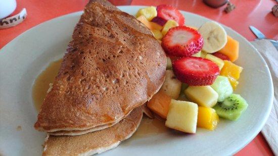 Swingers: pancakes e frutta ... favoloso!