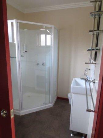 Grindelwald, Australien: Bathroom of Villa (cabin)