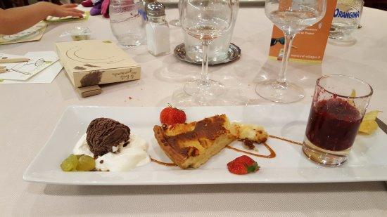 Hotel Restaurant Le Relais Du Moulin: Dessert : Délicieux