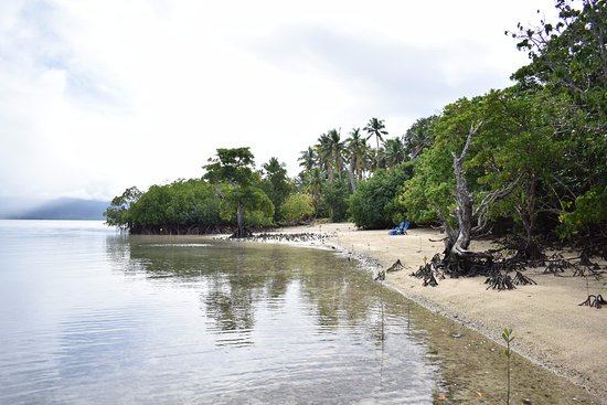 Vanua Levu, Fiji: Private beach for the day, with amazing snorkeling just off the beach.