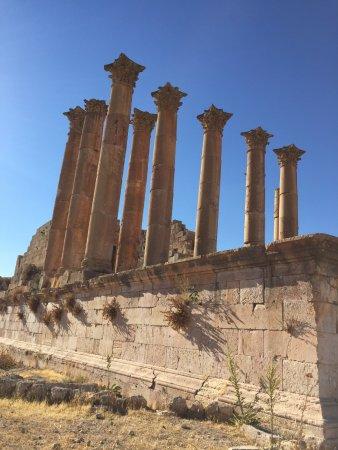 Jerash Ruins: colonne