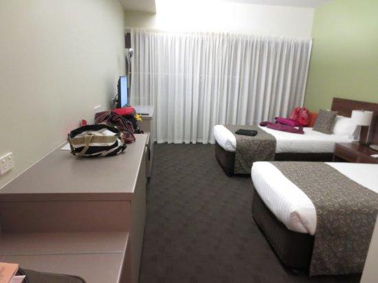 Cambridge, Australië: 2 twin beds