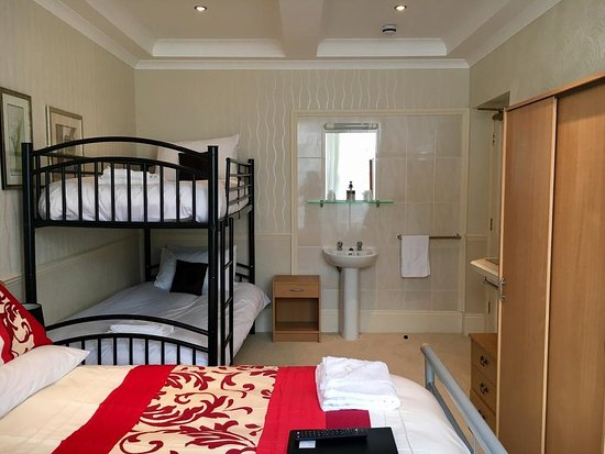 Room 4 Family Room A Double Bed And One Set Of Bunk Beds With