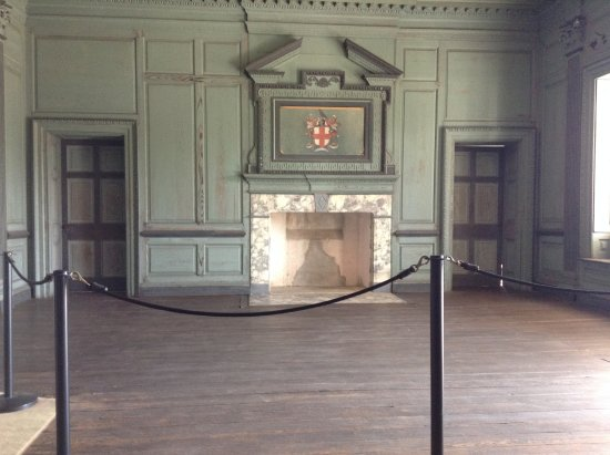 Inside Drayton Hall