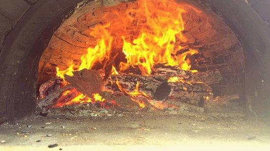Glyfa, Greece: wood oven