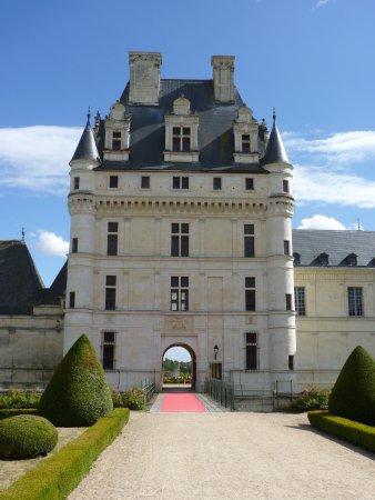 Valencay, Frankrijk: L'entrée du château