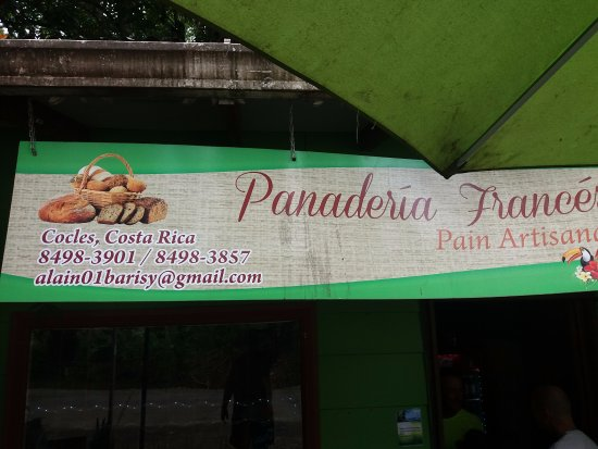 Cocles, Costa Rica: This is the bakery close to Caribe Town, look them up.