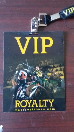 Lyndhurst, Nueva Jersey: vip lanyard you get with royalty upgrade
