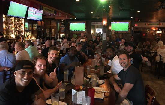 Atlantic Beach, FL: USA Rugby League Enjoying Dinner!