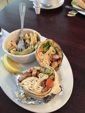 Metairie, LA: Visited this morning  I ordered the blackened shrimp wrap and it was basically nothing but the f