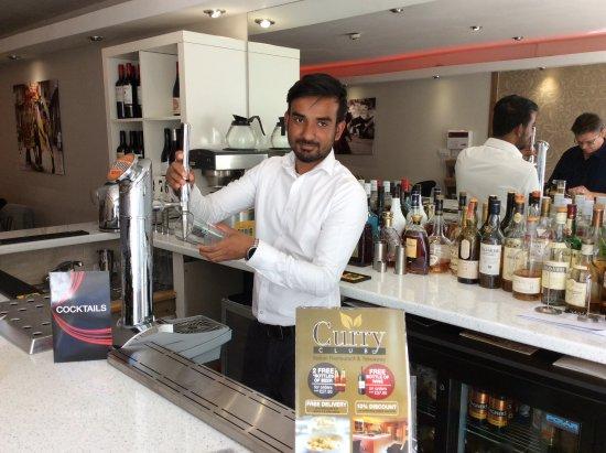 Rugby, UK: Best bartender in Rugby!