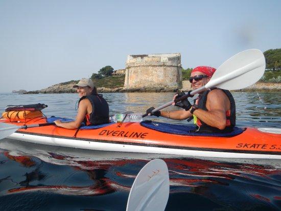 San Pantaleo, Italien: Kayaking