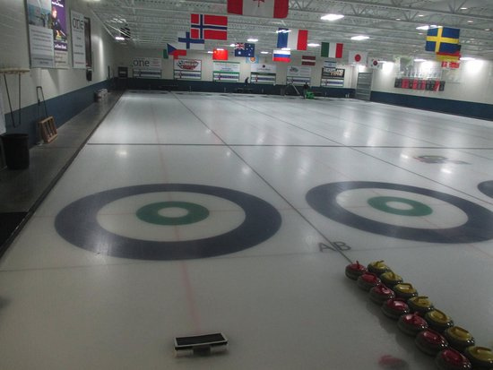 Blaine, MN: the curling lanes
