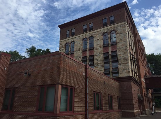 Chippewa Falls, WI: Buildings on the groudns