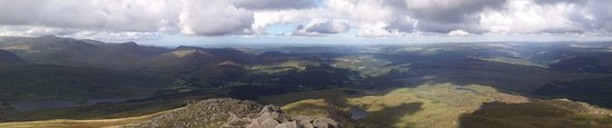 Capel Curig, UK: View from Moel Siabod summit; worth the hike up!
