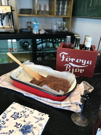 Vagur, Faroe Islands: yummy baked goods served by the cafe