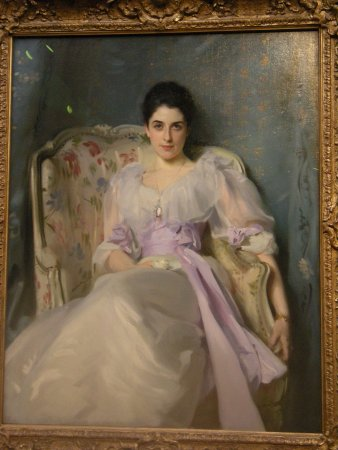 Scottish National Gallery: John Singer Sargent (1856 – 1925) American, Lady Agnew of Lachnaw c. 1892-3