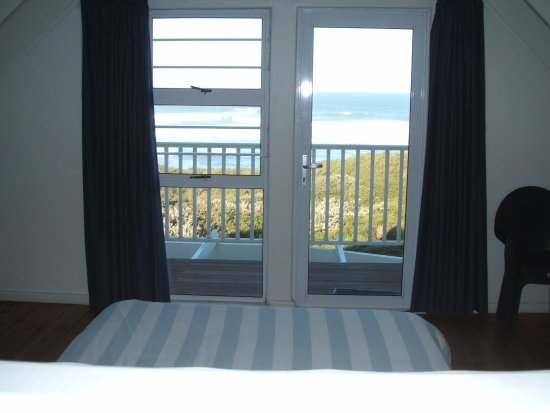 Port Alfred, South Africa: view from the upstairs bedroom