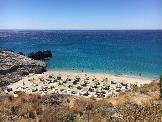 Plakias, Greece: Top view