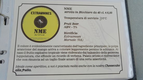 Чезате, Италия: Birra ottima!