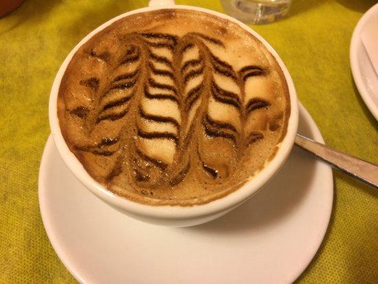 Gran Caffe Ciorfito: Il était aussi beau que bon!!!