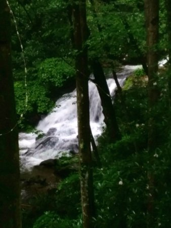 Clayton, GA: more falls on the creek