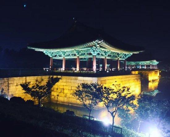 Кенджу, Южная Корея: Donggung Palace and Wolji Pond in Gyeongju