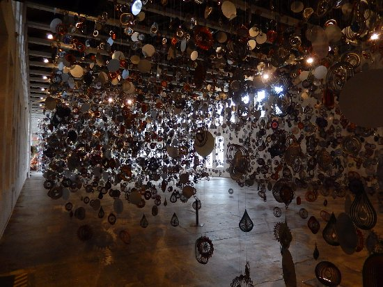 MASS MoCA: Nick Cave's Until -- amazing collection of lawn ornaments and kaleidoscopes