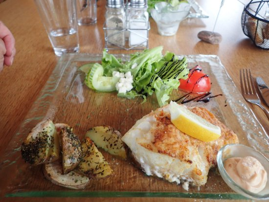 Guesthouse Vellir: Cod Dinner - Excellent