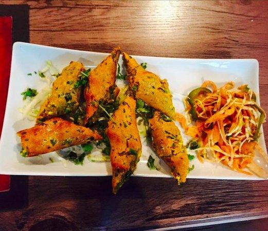 Estado de Lagos, Nigeria: Chicken Sheek Kabab