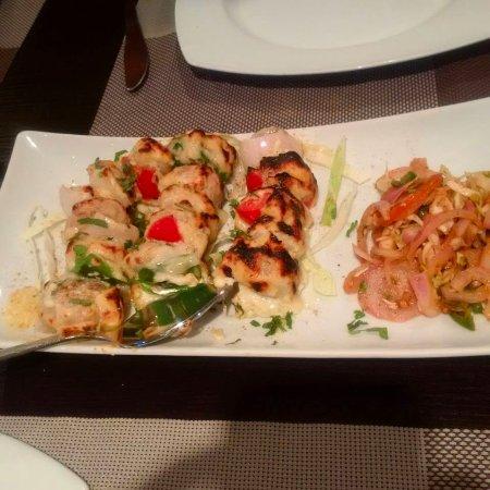 Lagos State, Nigeria: Chicken Malai Tikka