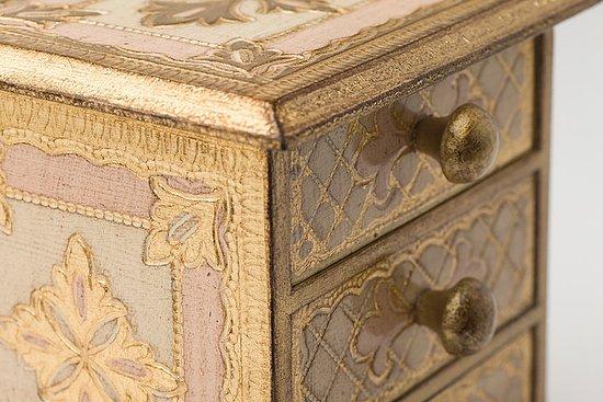 Dipingere Portagioie Di Legno : Carillon legno portagioie da collezione musicisti scatolina