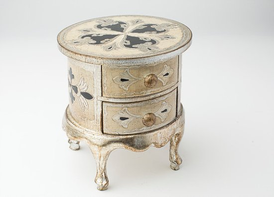 Dipingere Portagioie Di Legno : Cofanetto in legno portagioie antichizzato realizzato e