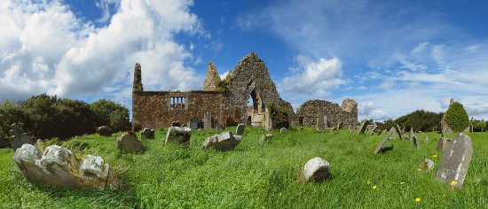 Ballycastle, UK: Bonamargy Friary