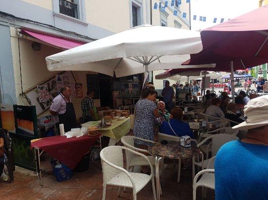 Grado, España: Cafeteria Restaurant La Parra