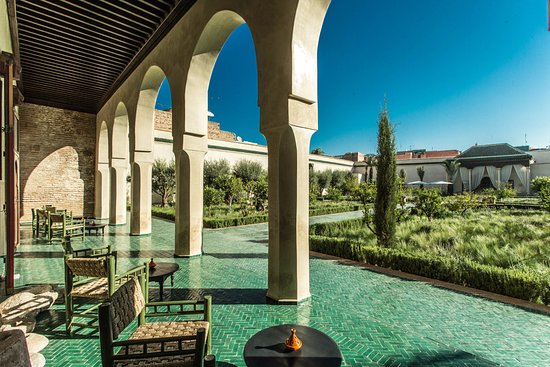 Le jardin secret marrakech marocko omd men for Jardin marrakech