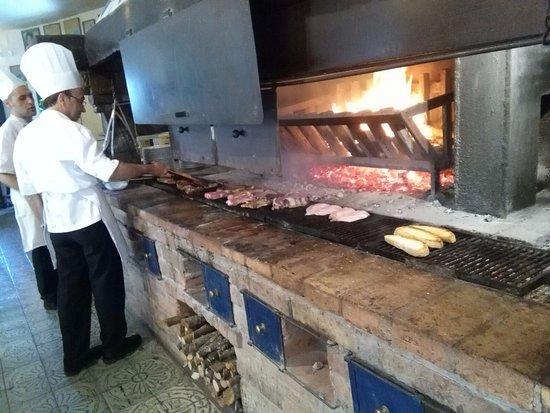 Fabro, Italien: carne alla brace