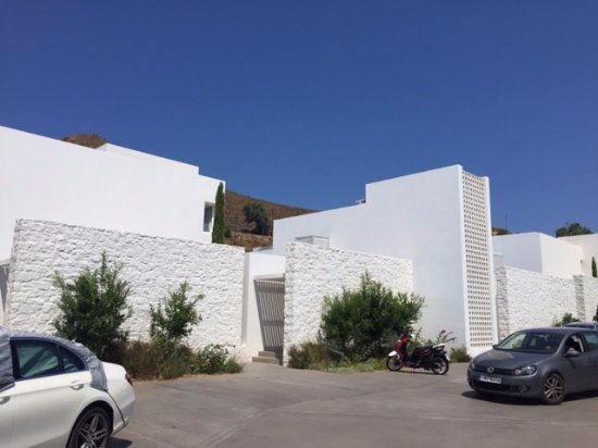 Grikos, Greece: Hotel parking