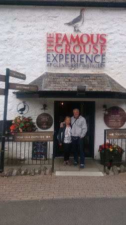 Crieff, UK: Visit to Famous Grouse distilliary (July 2017)