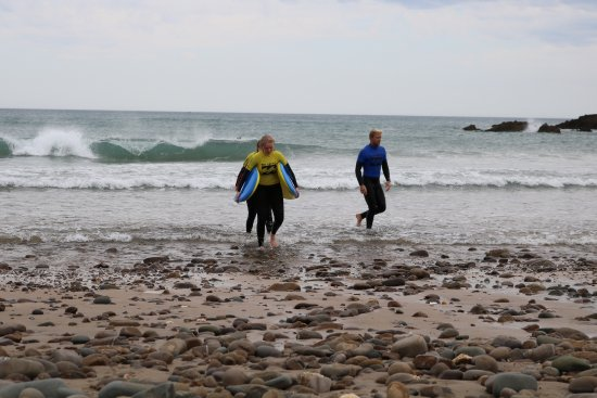 Bude, UK: End of lesson