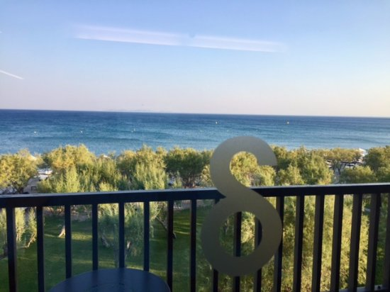 Doryssa Seaside Resort: View from our suite