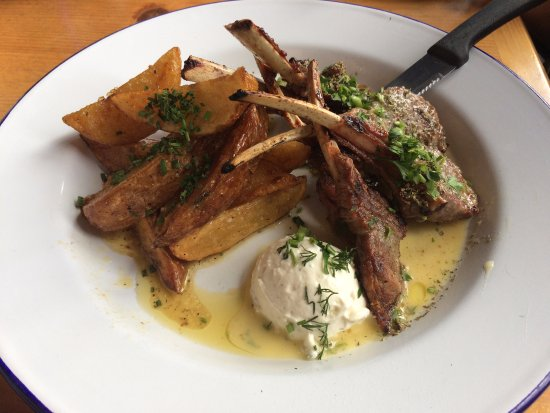 Fullerton, CA: lamb and lemon potatoes