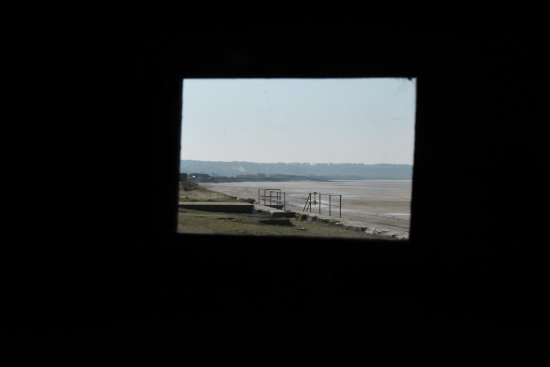 VIEW FROM INSIDE GUN PLACEMENT