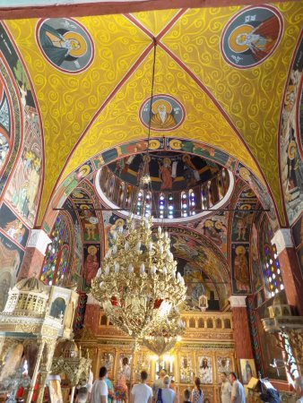pop inside - Picture of Church of St  Panteleimon, Siana
