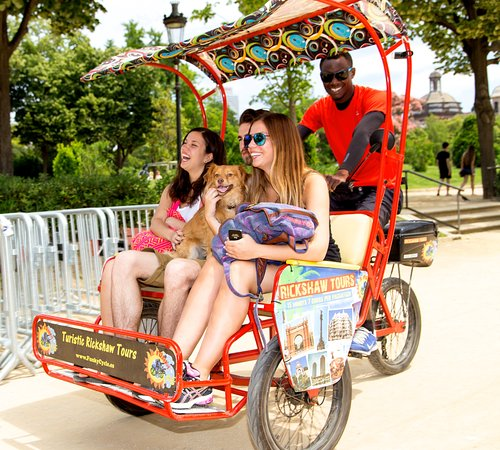Rickshaw Funky Cycle Barcelona City Tour