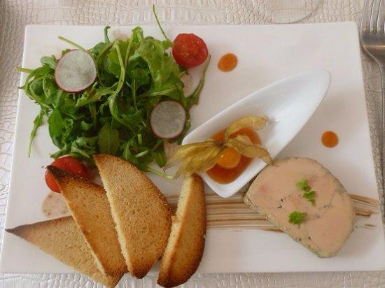 Pierrefeu-du-Var, فرنسا: foie gras