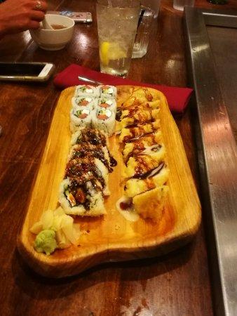 Antipasto sushi