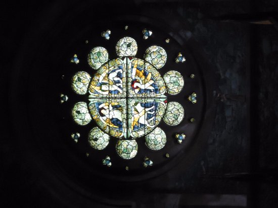 Betws-y-Coed, UK: glas in lood raam